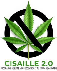 Cisaille 2.0 - Programme de lutte à la production et au traffix de cannabis